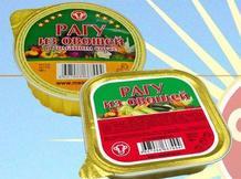 Консервы для комплектования пайков, индивидуальных рационов питания